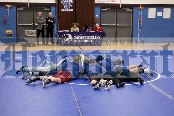 Monticello Wrestling Match