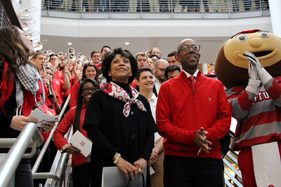 2014 The Ohio State University 15th President Campus Welcome - Dr. Michael V Drake