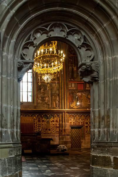 St. Wenceslas Chapel - St. Vitus Cathedral at Prague Castle