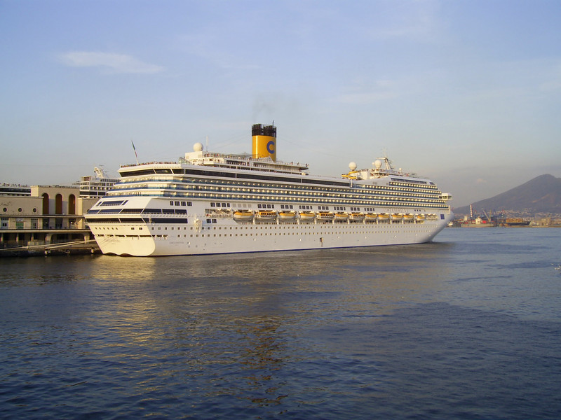 M/S COSTA FORTUNA in Napoli.