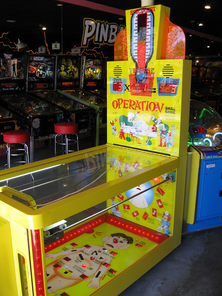 New Operation redemption game at the Palace Arcade.