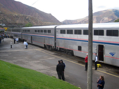 Amtrak CA Zephyr to CO