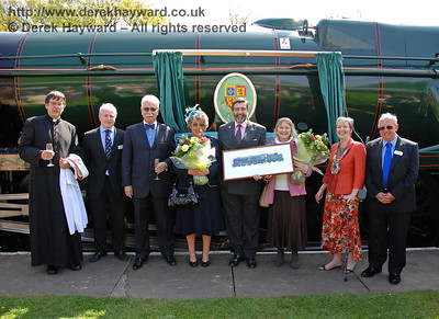 34059 Sir Archibald Sinclair - Naming Ceremony 24 April 2009