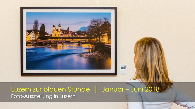 Foto-Ausstellung Luzern zur blauen Stunde