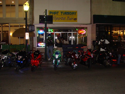 Bike Night @ PHAT TUESDAY Sports Bar