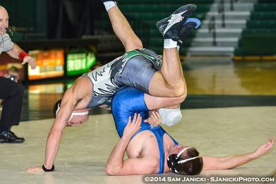 2-16-14 Eastern Michigan Wrestling Vs Buffalo