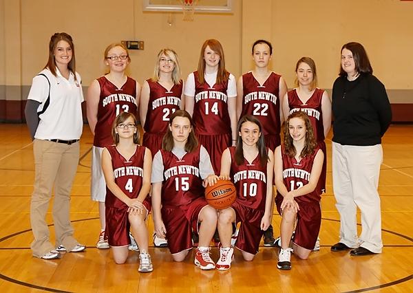 SNMS Girls Basketball 2010-2011