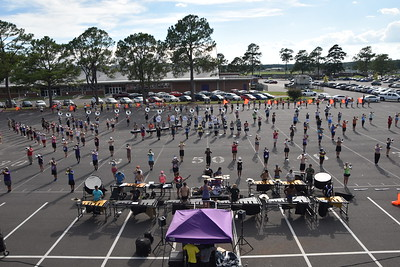 2018-9-5 NSU Band & Football Practice