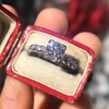 1.48ctw Antique Old European Cut Diamond Ring 17