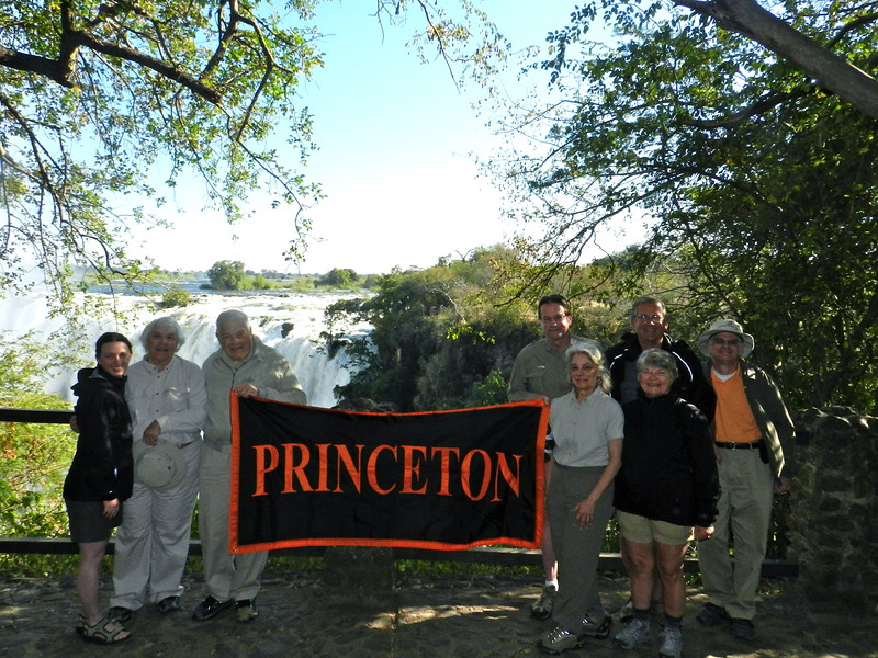 118 - The group at Vic Falls - Anne Davis