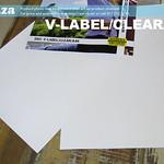 SKU: V-LABEL/CLEAR/A4K, ECOLine Inkjet-A4 100 Sheets Waterproof Adhesive Paper (Transparent A4)
