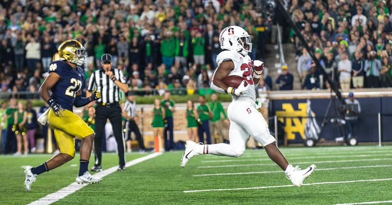 Stanford 17 v Notre Dame 38 (Sep 18)