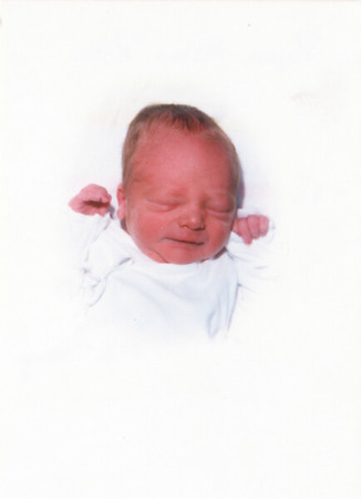 Ryan's Birth and Baptism (Apr-May 1988)