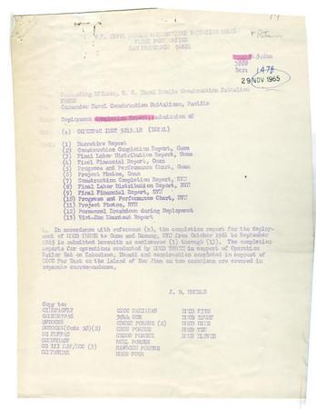 NMCB-3 1964-1965