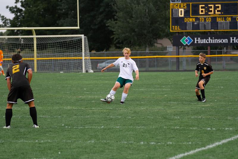 Holy Family Boys Varsity Soccer vs. Hutchinson, 9/26/19: Dylan Krumpholz '21 (21)