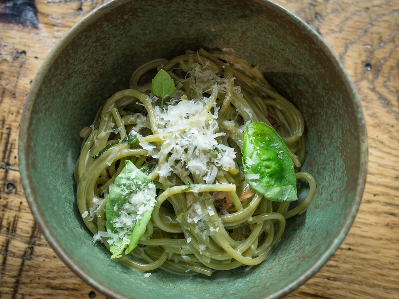 garlic pasta in green bowl.jpg
