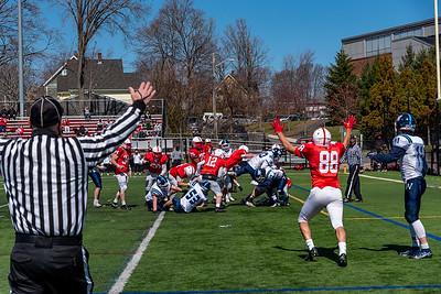 MHS Football & Cheer & Band vs Wilmington 03APR21