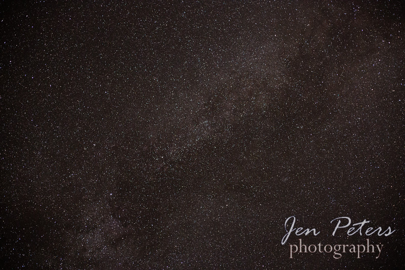 The Milky Way in Calistoga