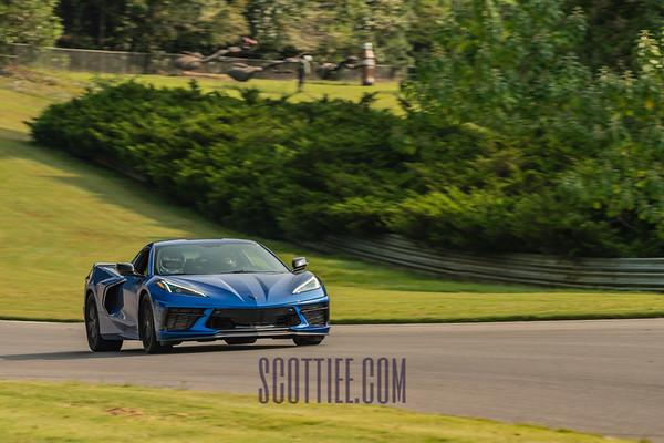 C8 Corvette Elkhart Lake Blue #13