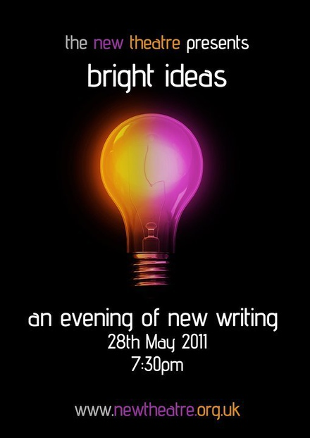 Bright Ideas - An Evening of New Writing poster
