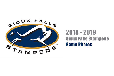 2018 - 2019 Sioux Falls Stampede Game Photos