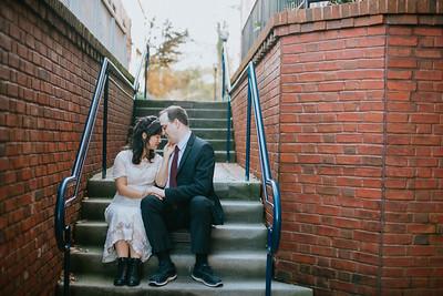 David and Eva's Wedding Portraits