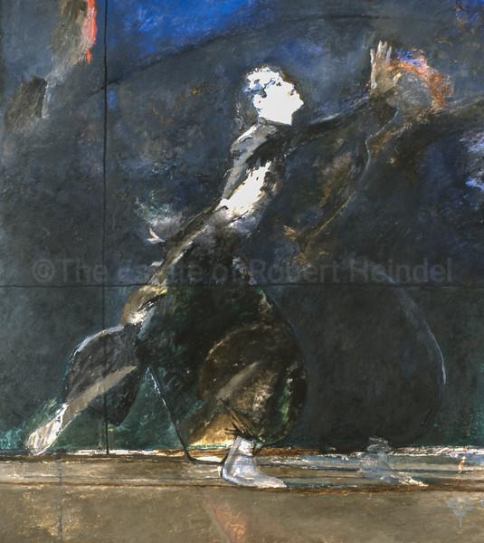 Dancer in Dark Robes