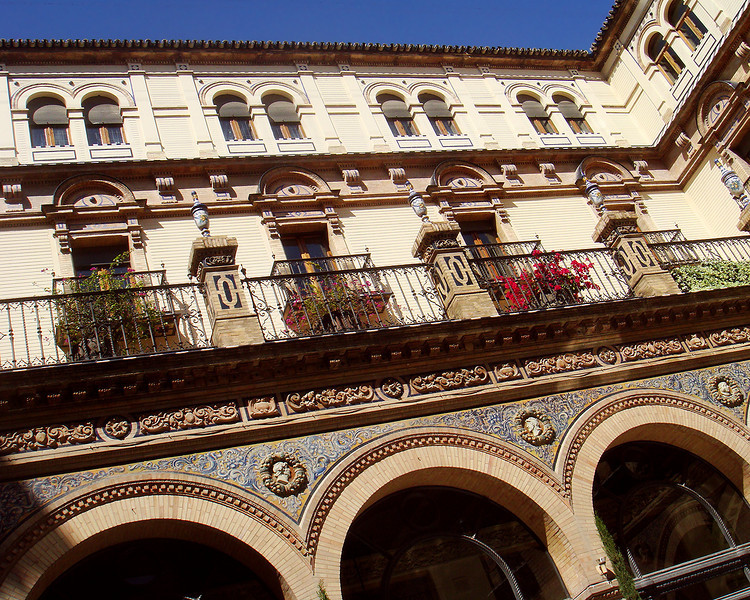 Hotel Alfonso XIII - Seville, Spain