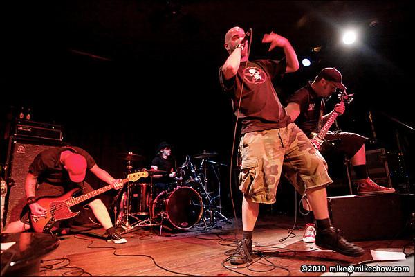 Southern Death Threat/Black Hat Villain/Dead City Scandal, July 23, 2010