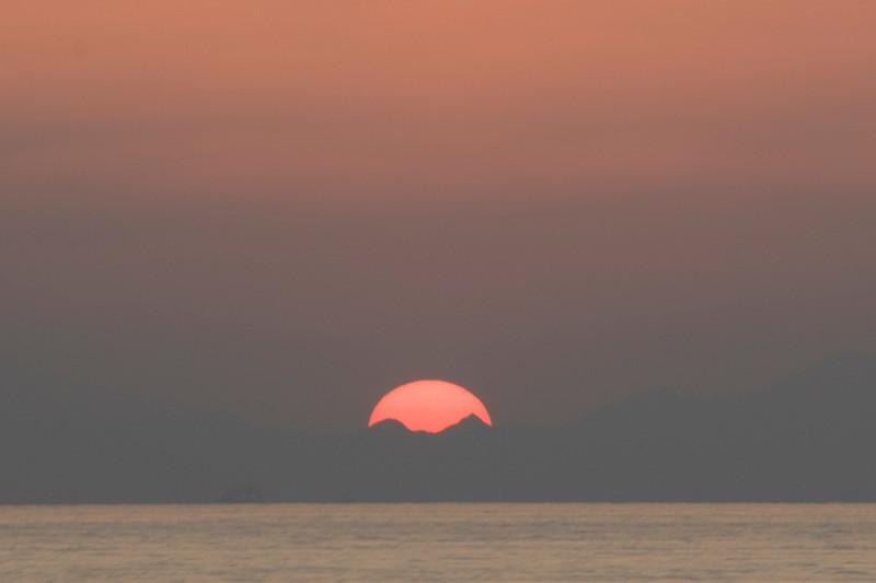 Sunset on Strait of Hormuz 3 - Musandam, Oman