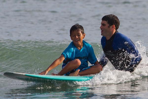Surfing at Surf Ninja!