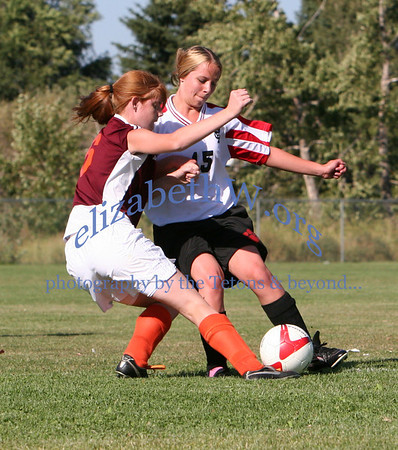 Teton Valley Girls Soccer  #8 vs S. Fremont