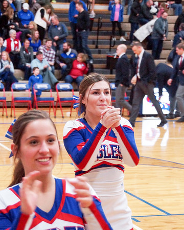 LB BBK Cheerleaders @ Home Game (2019-01-25)