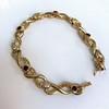 Vintage French Ruby & Diamond Serpent Bracelet 6