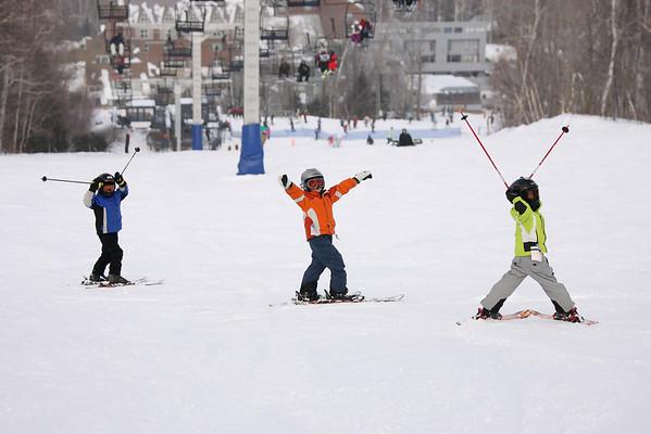 Skiing February 2009