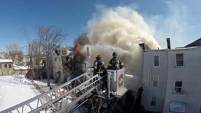 Structure Fire - 350 Hanover St, Bridgeport, CT - 2/27/15