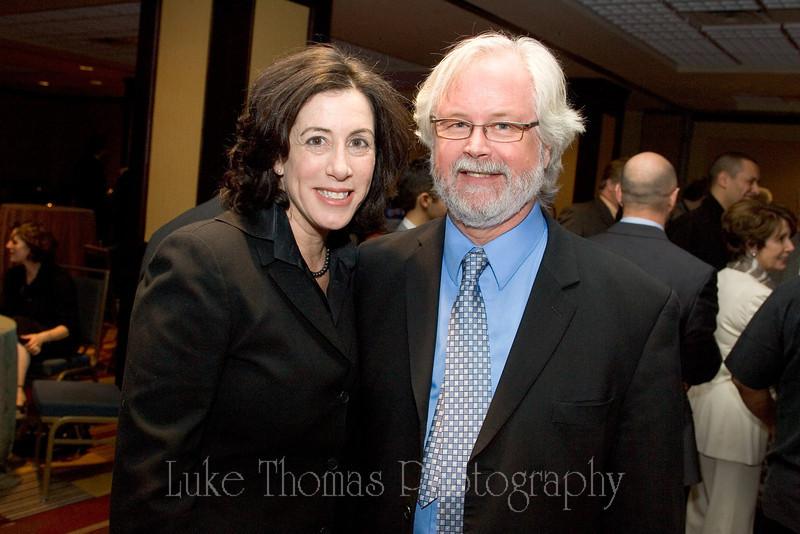 Christine Pelosi and Tim Paulson.
