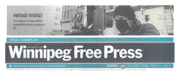 The Story in the Winnipeg Free Press
