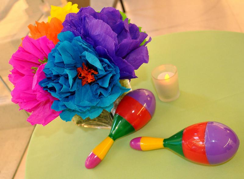 Cinco de Mayo party decorations.