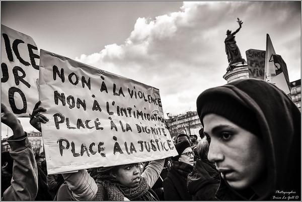 Marches et rassemblements contre le racisme et les violences policières