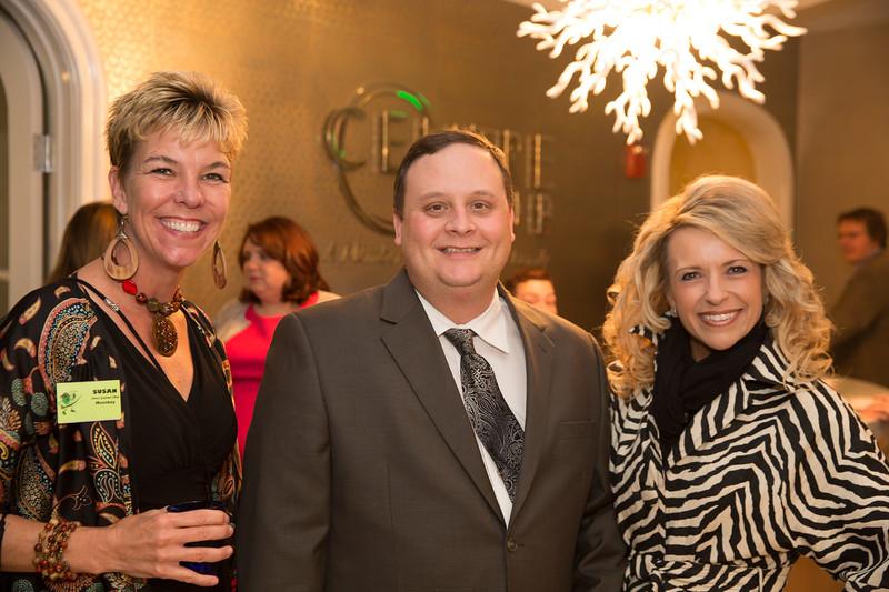 Susan Dodd of Steves' Gourmet OLives, Jamie Meloni, Debbie Lundberg