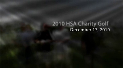 2010 HSA Golf Charity Golf Video