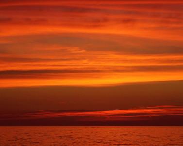 """Red Sky"" (digital photo) by Luke Engle"