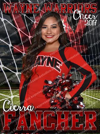 Cheer (Football and Soccer) 2017
