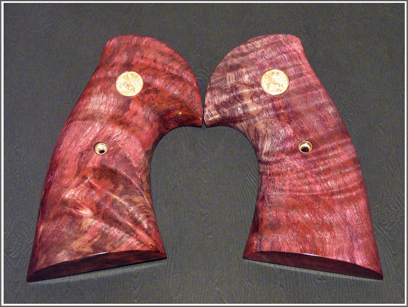 Burl, Purple Pink Maple