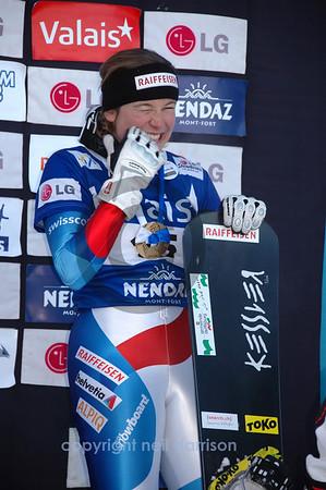 Snowboard World Cup final Podium 2010