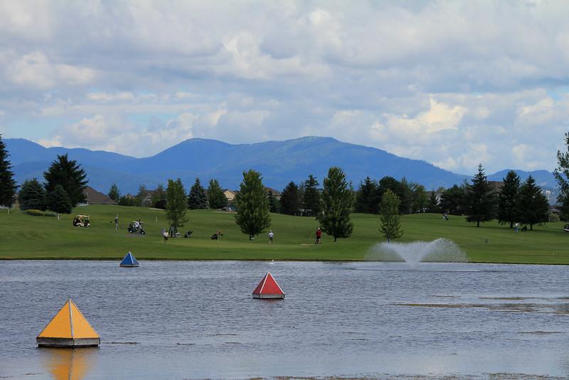 Driving Range, Medowwood GC,  Liberty lake, Wa