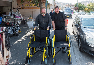 Cana Church Wheelchair Delivery
