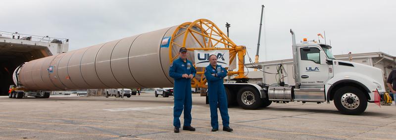 Crew Flight Test Atlas V and Centaur Arrival