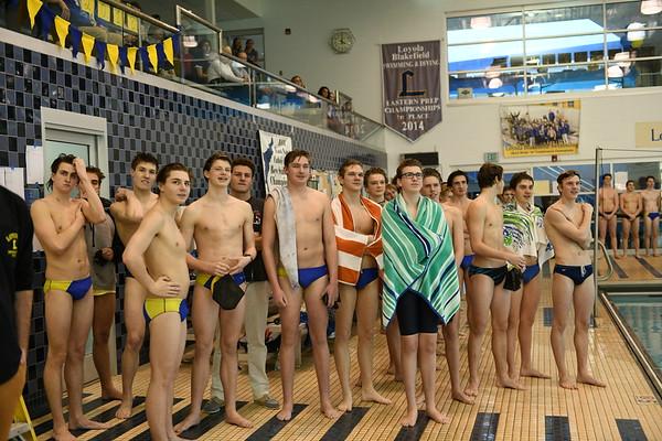 2018 Loyola Swimming - 01-26-2018 - Senior Day